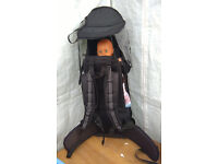 Baby Weavers backpack baby carrier, 6 months to 18kg, nearly new