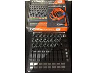 Novation Launch Control XL Midi Controller Boxed with USB Cable and Instructions