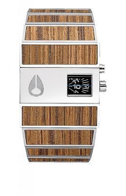 New In Box   Nixon Rotolog Teak Wrist Watch A028 439