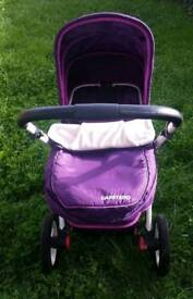 Pram/ pushchair 2 in 1