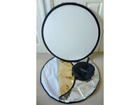 Portaflash collapsible 5-in-1 reflector system for photography