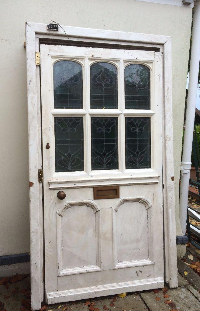 Refurbished Stained Glass Front Door | in Ipswich, Suffolk | Gumtree