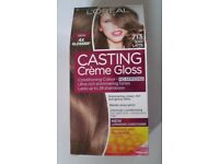 L'Oreal Casting Creme Gloss Conditioning Colour, 713 Iced Latte, Unused