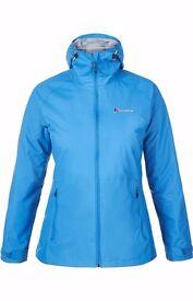 Ladies Stormcloud Berghaus Waterproof Jacket Brand new BNWT size 18