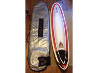 NSP Surfboard 7'10