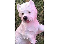 NEW West Highland Terrier, large, lightweight ornament
