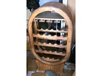 Wooden wine rack/storage/furniture *CHRISTMAS ON SALE £35*