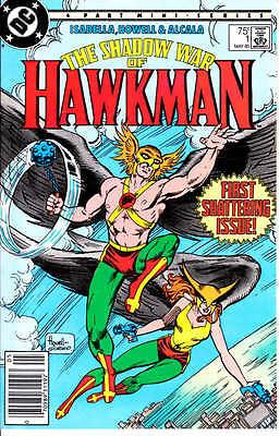 The Shadow War of Hawkman #1 & 2 - 1985