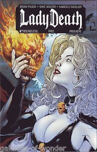 Lady Death Boundless Premiere  bad girl comic