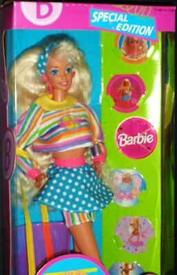 Mattel Barbie Fun Pog Special Edition Doll (1994) Toys