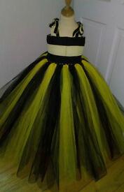 New handmade girls tutu dress princess costume fancy dress