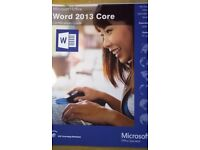 Excel Expert 2013, Outlook 2013 and Word Core 2013 books