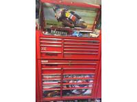 Snap On Tool Box With Keys.
