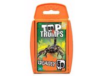 Top Trumps Deadly 60 Card Game: Brand New