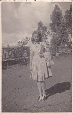 * ETHIOPIA - Gondar - Italian girl 1940