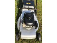 "Honda 22"" self propelled lawnmower fully serviced mower solid steel deck ready to cut"