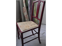 Vintage Antique bedroom Chair in excellent condition