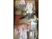 Baby Girl 0-3 Clothes Bundle