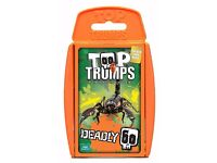 Top Trumps Deadly 60 Card Game. Brand new and unopened