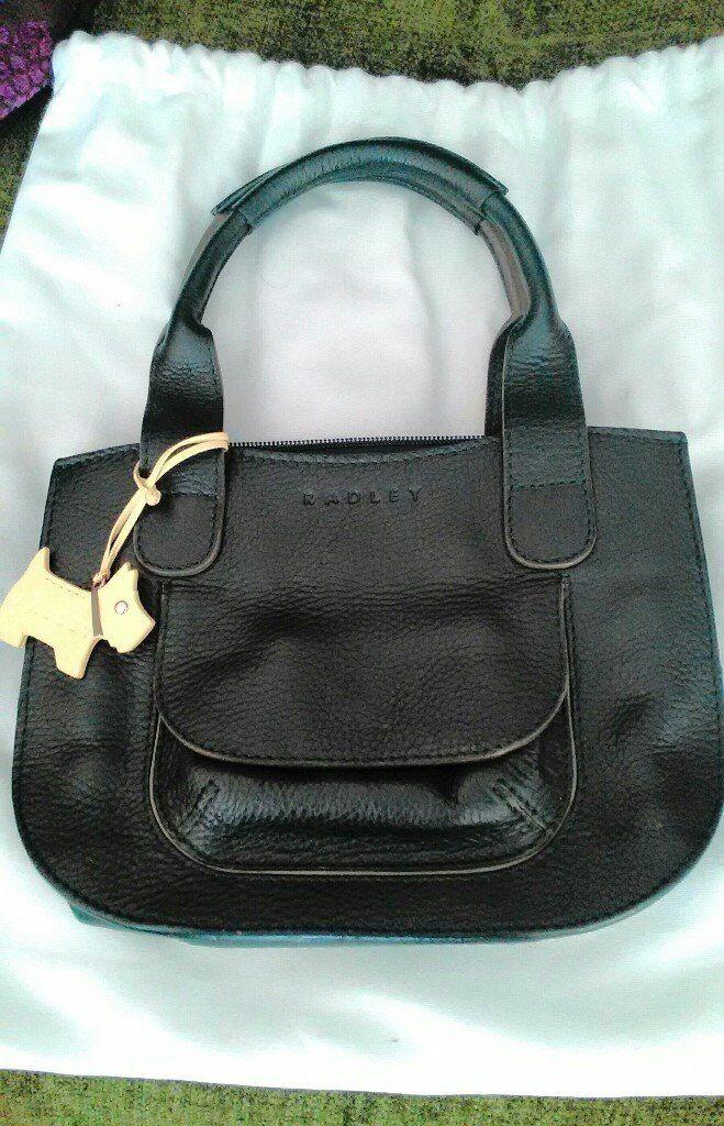Radley handbag in dark green leather   in Bury St Edmunds, Suffolk ... 3e2b054531