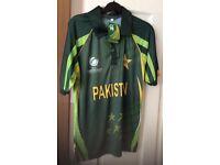 Pakistan cricket shirt 2013 Champions trophy Brand New £10 Bargain!