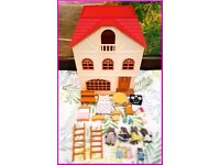Bundle Sylvanian Families Cedar Terrace