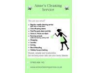 Anne's Cleaning Service Manchester City Centre - Domestic and Office Cleaning