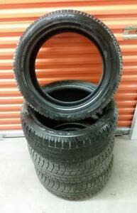 (H173) Pneus Hiver - Winter Tires 215-50-18 Toyo 10-11/32