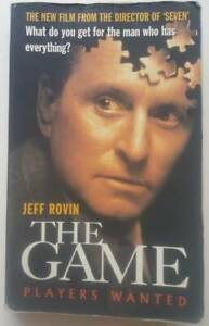 Book - The Game, by Jeff Rovin