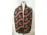 mens burberry wool scarf