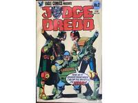 Vintage, wrapped Judge Dredd Eagle Comics