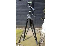 Manfrotto Professional Camera Tripod And Head