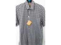BARBOUR BUDDON CHECKED SHORT SLEEVE SHIRT