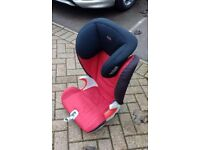 Britax car seats with isofix fittings. Two available.