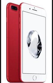 I phone 7 plus 128 gb hardly used