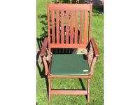 Texsure Outdoor Seat Pads x8