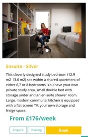 Silver en-suite room at Cathedral Point, tenancy needs taken over!