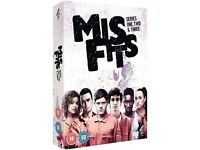 misfits series 1 two and three sealed