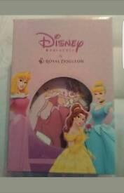 Royal Doulton Disney Princess 3 peice set cup, bowl and plate