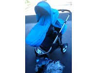 Candy Apple to Pear Double Travel System