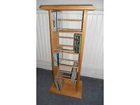 Pine CD Shelf Unit - Holds 95 CDs