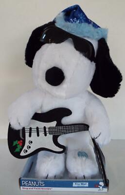 Rock N Roll SNOOPY Christmas TWIST & PLAYS Electric Guitar PEANUTS Theme](Rock N Roll Theme)