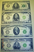 US Paper Money 5000