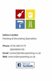 Prefesional painters decorators in London