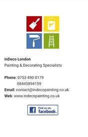 London PAINTER DECORATOR all ares covered, high quality work