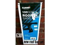 New 100 serues roof bars