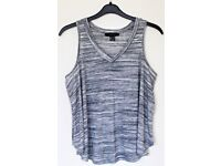 Women's Size 14 Primark Vest Top - Grey