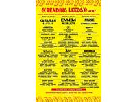 2 x Reading weekend camping + parking pass