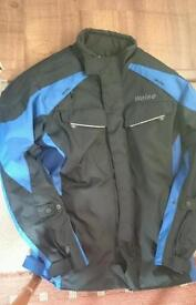Weiss bike jacket and gloves
