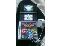 Nintendo dsi black 1 game and charger